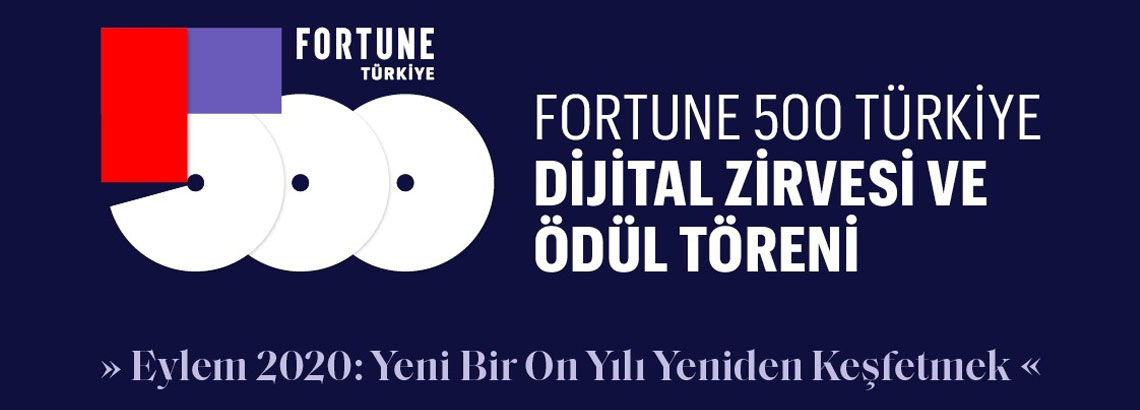 WE SHARED THE DIGITAL TRANSFORMATION PROJECT AT FORTUNE 500 TURKEY DIGITAL SUMMIT